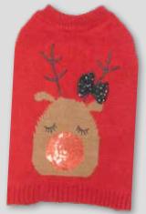 Sötnos Glitzy Reindeer Sweater **Was £12.99 Now £7.99**