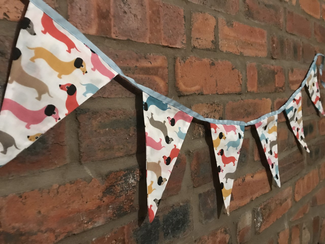Bunting - Colourful Dachshund (4 metres) **Was £14.00 Now £7.00**