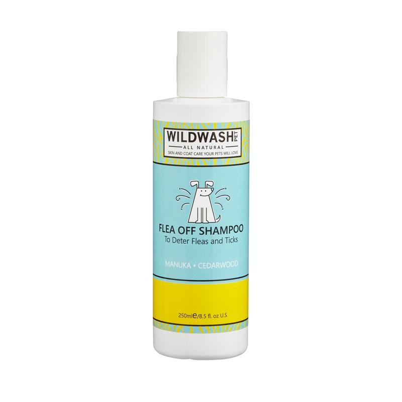 Wildwash Pet Flea Off Shampoo 250ml **Was £8.95 Now £5.95**