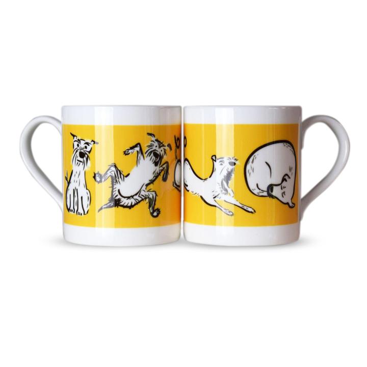 Bone China Mug - Schnauzer Moods