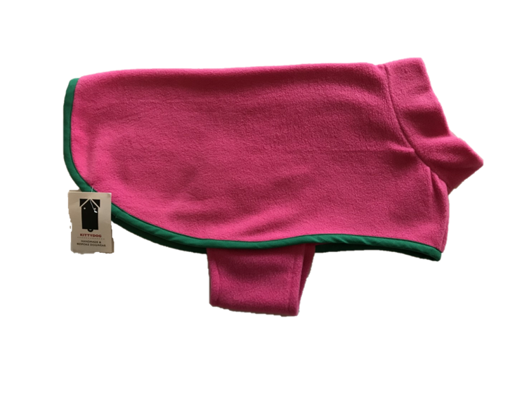 Kittydog Pink Plain Vest (Medium)