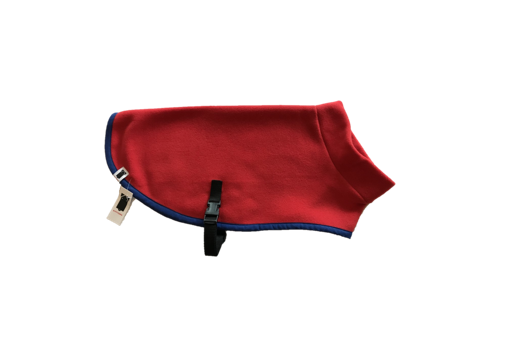 Kittydog Red Plain Jacket (Small/Med)
