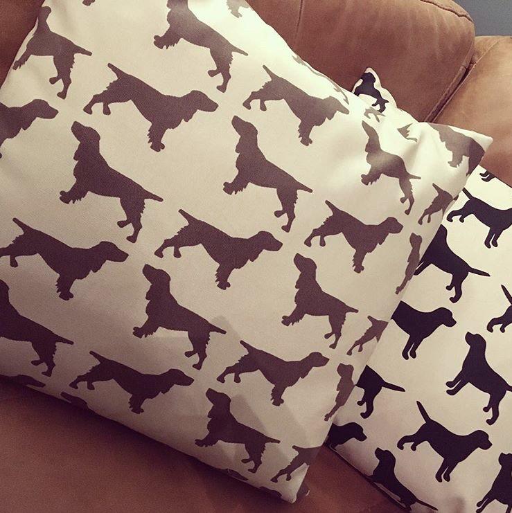 Brown Spaniel Cushion