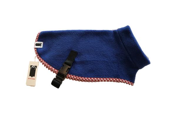 Kittydog Royal Blue Plain Jacket (XXS)