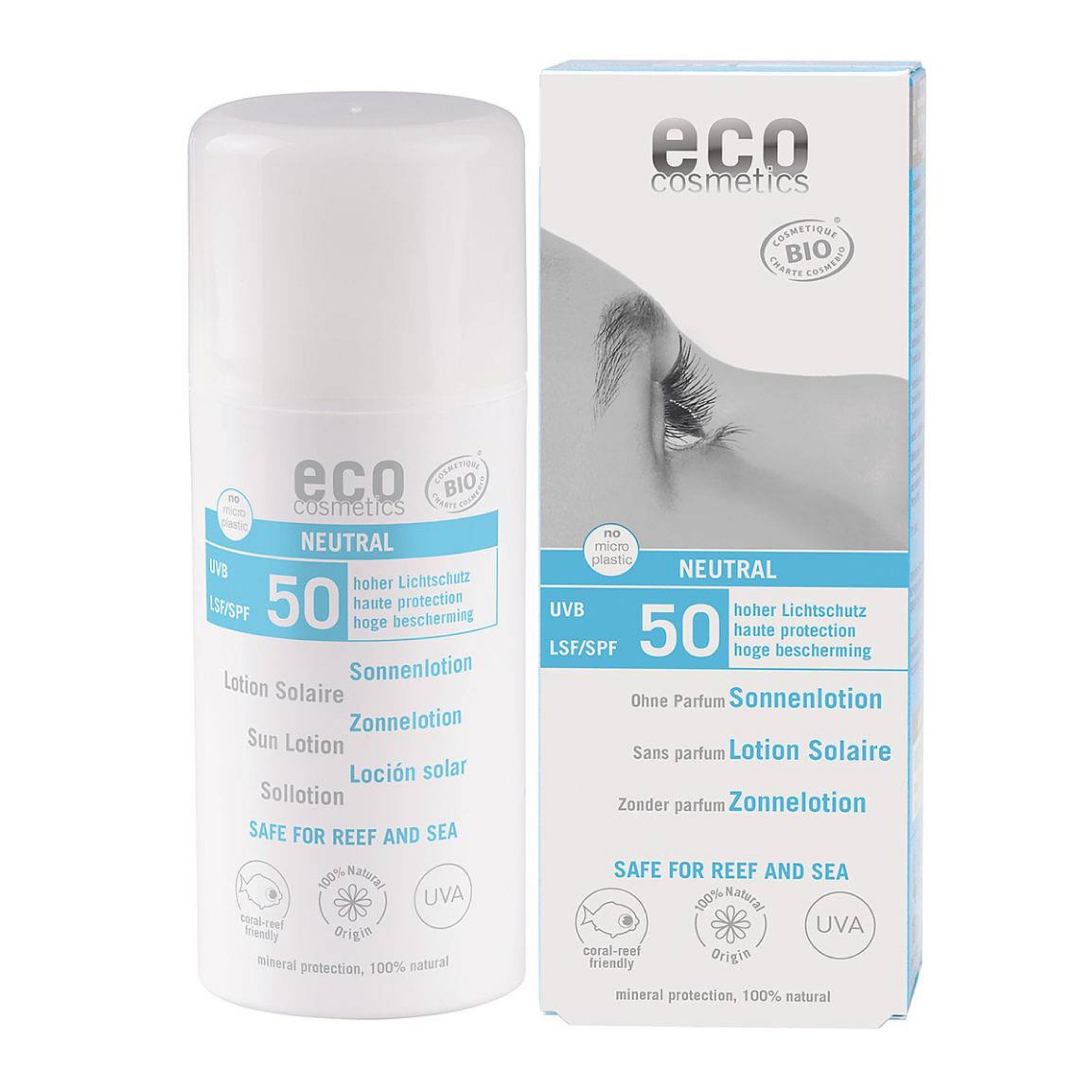 Eco Cosmetics Sollotion neutral SPF 50