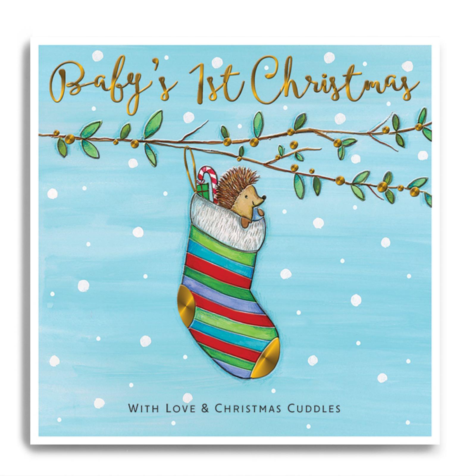 Janie Wilson  Baby's 1st Christmas card