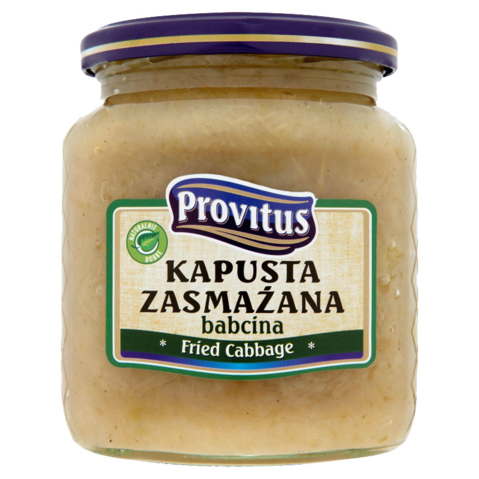 Paistettua hapankaalia - Kapusta zasmazana Provitus 480g