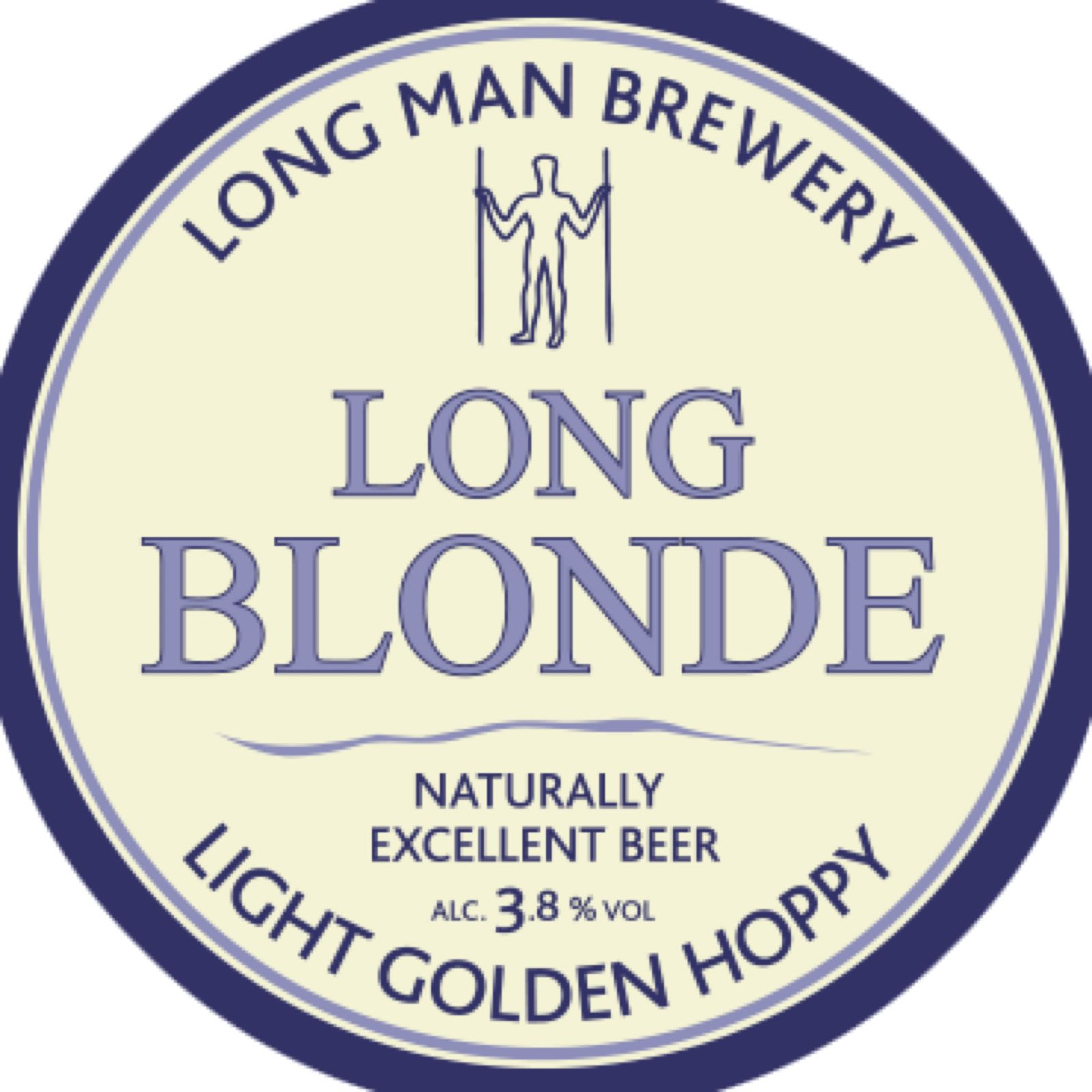 Long Man - Long Blonde