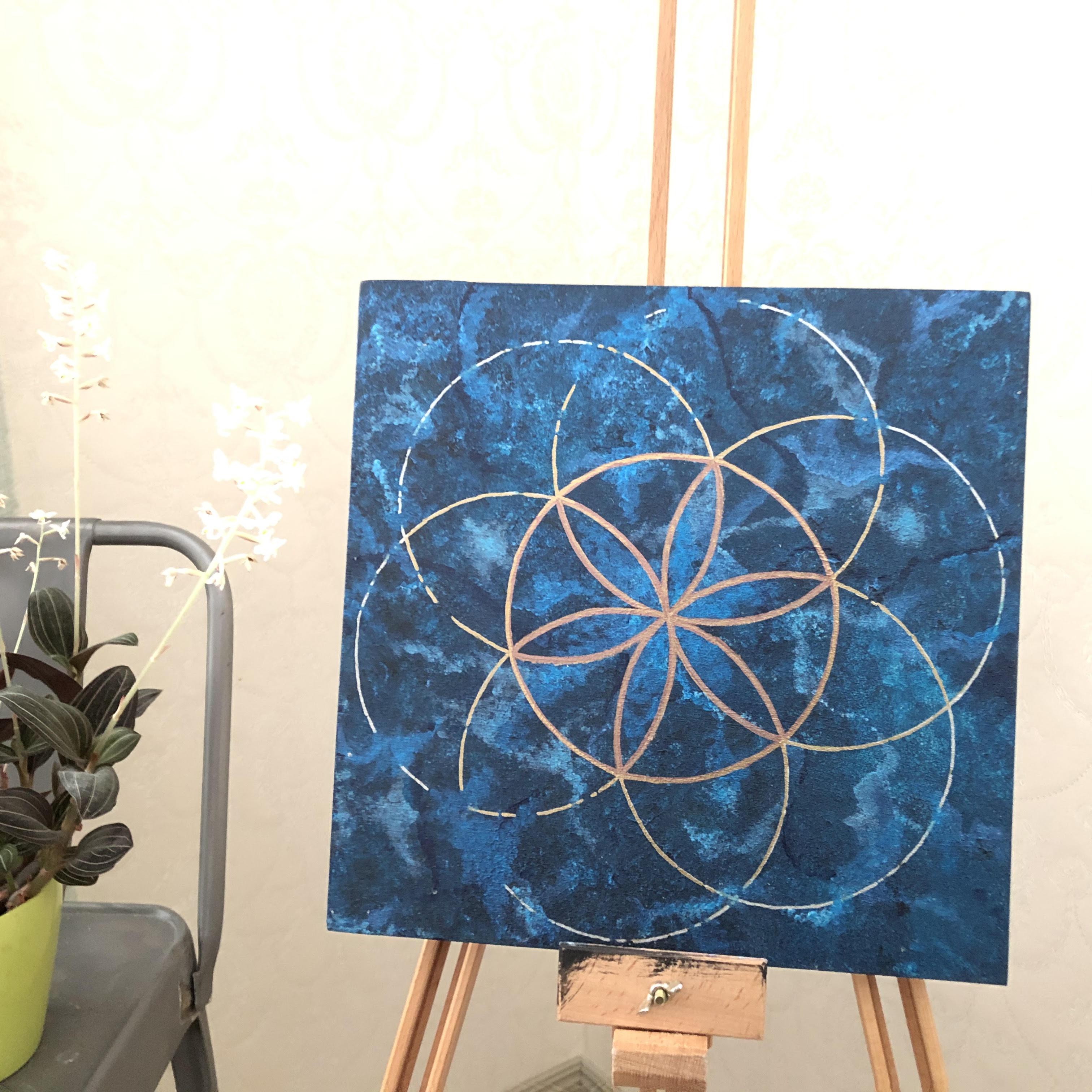 Pyhät geometriset taulut: Avain vapauteen, 30 x 30 cm