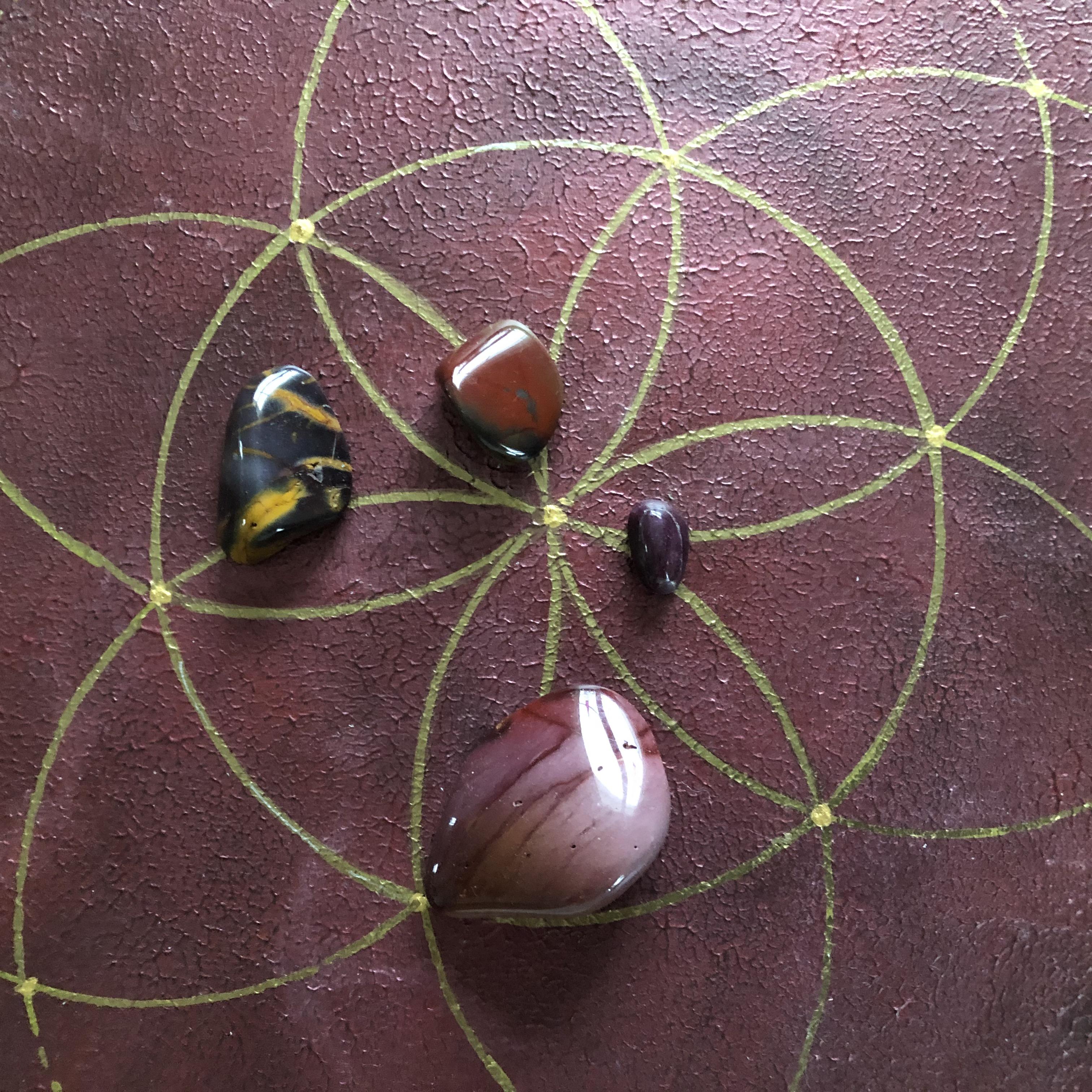 Pyhät geometriset taulut: Täydellisyys, 30 x 30 cm