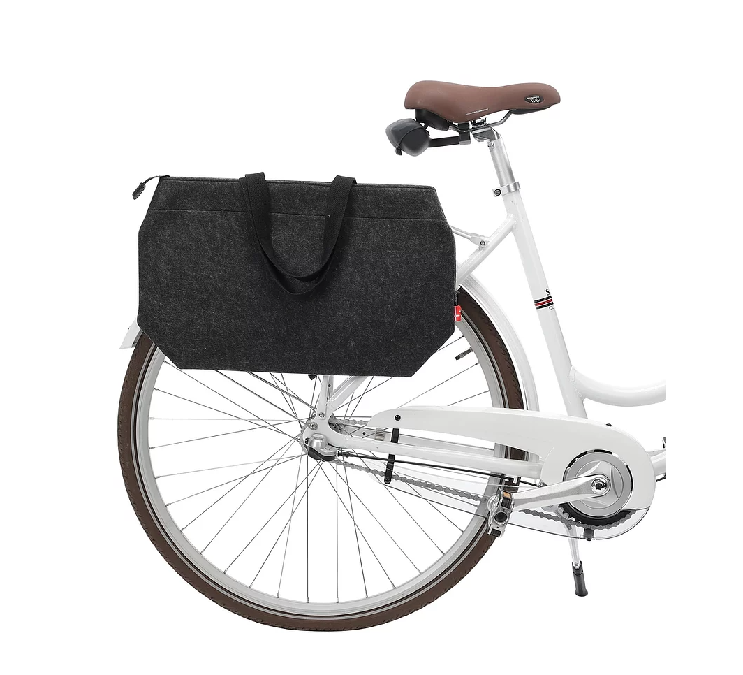 COBAGS ZIPZAC FELT CYCLE BAG