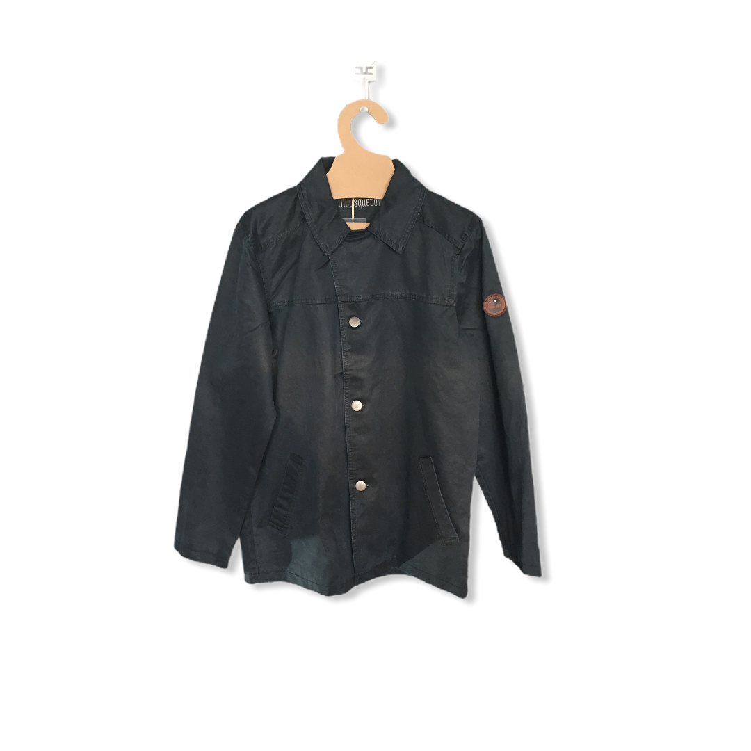 PETERMAN NAVY WAXED JACKET