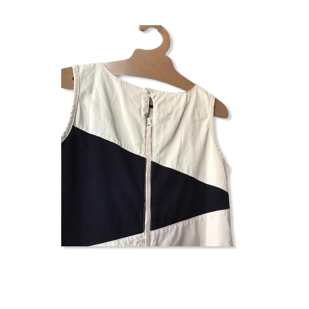 FLAG DRESS IN SAIL CLOTH