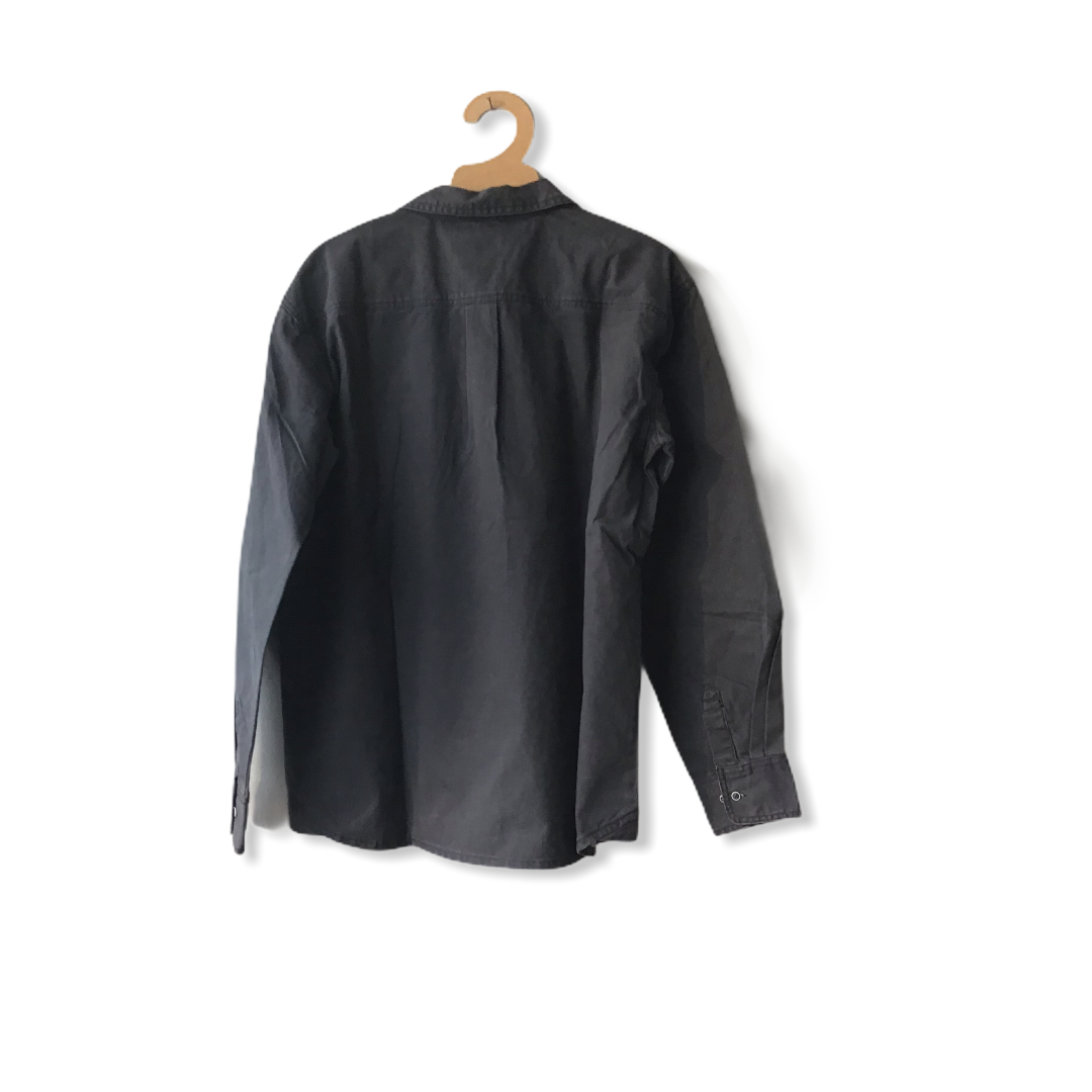 YVAN WORK SMOCK IN SAIL CLOTH