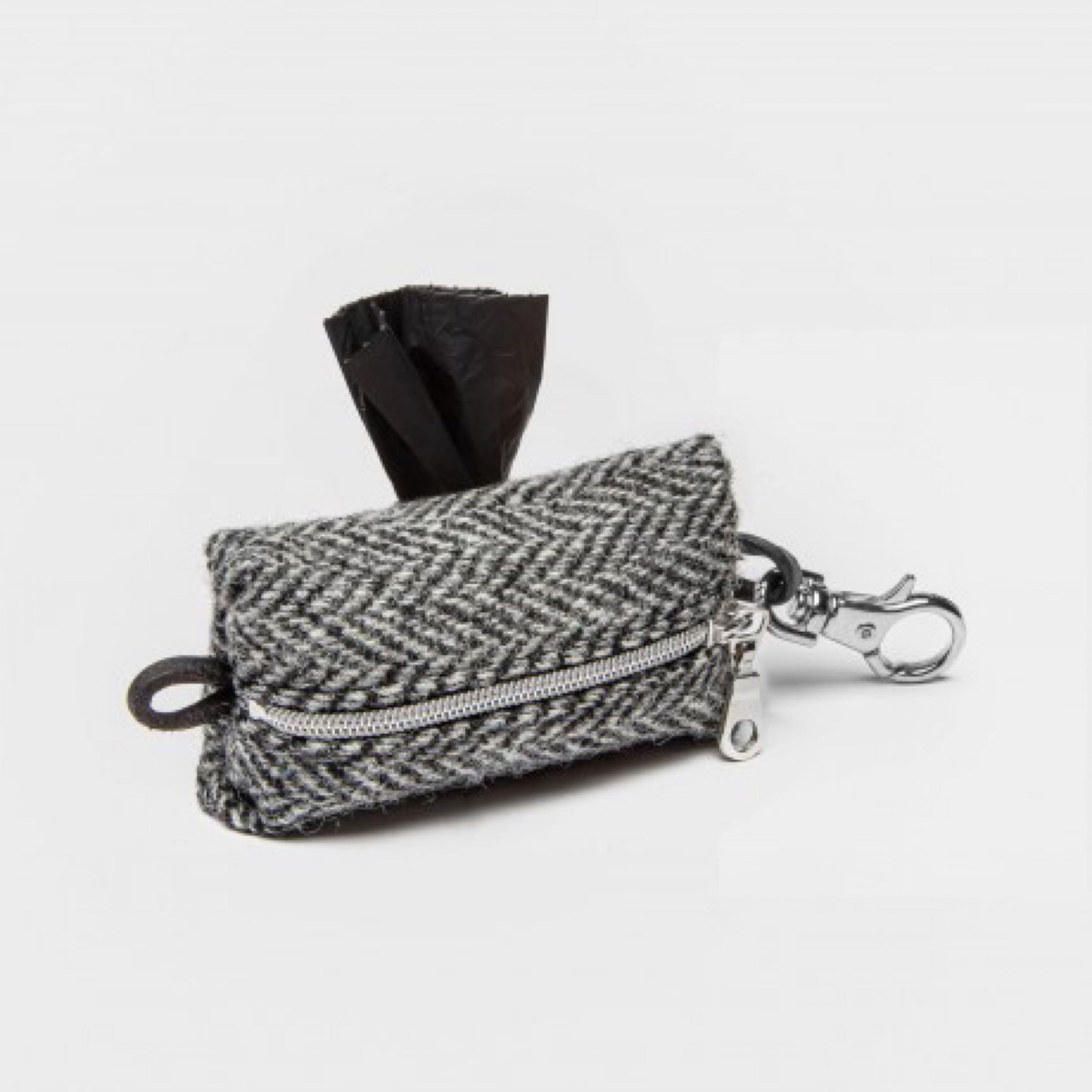 Doggy-Do-Bag Fishbone Black