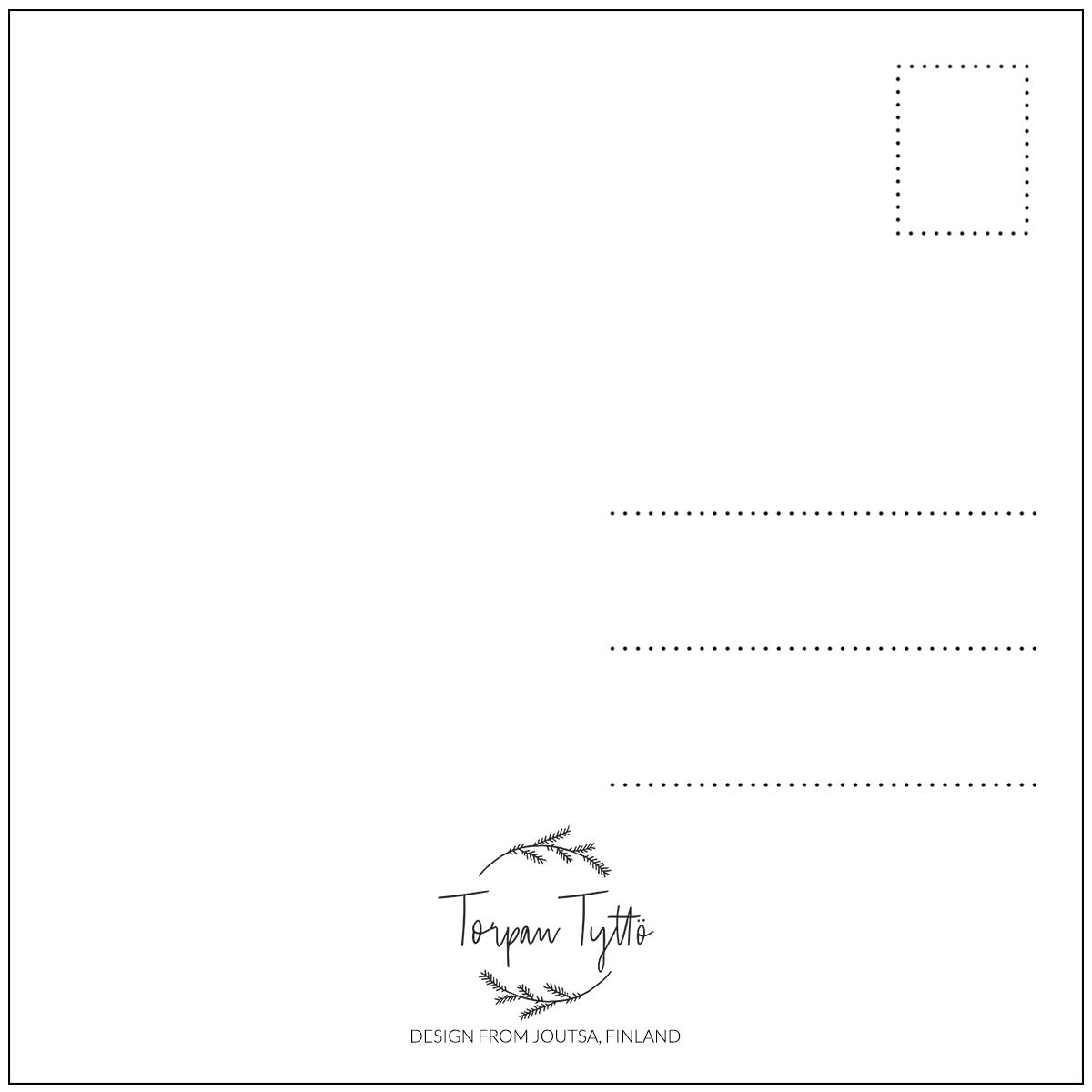 Postikortti Höyhen