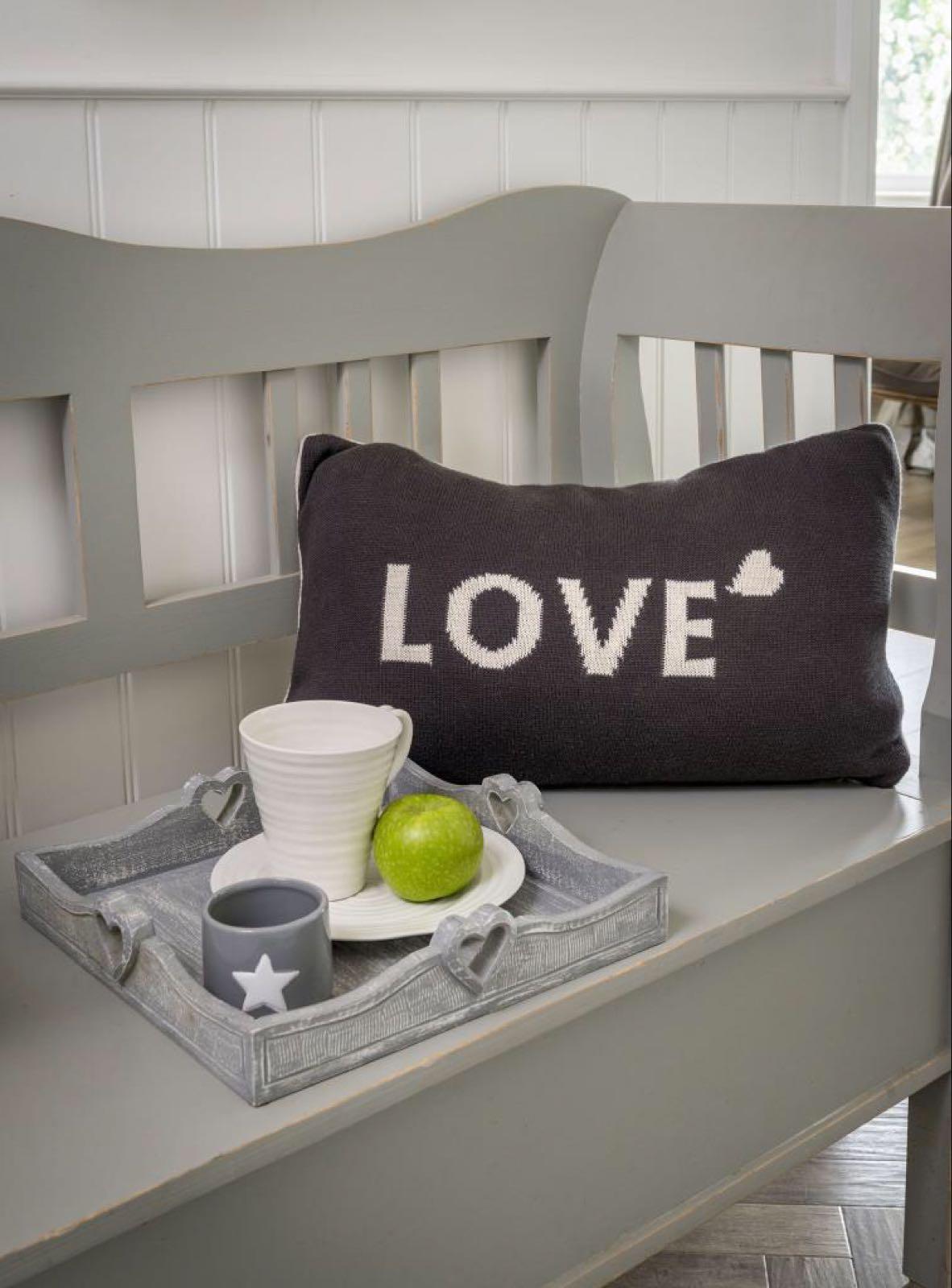 Knit LOVE Cushion