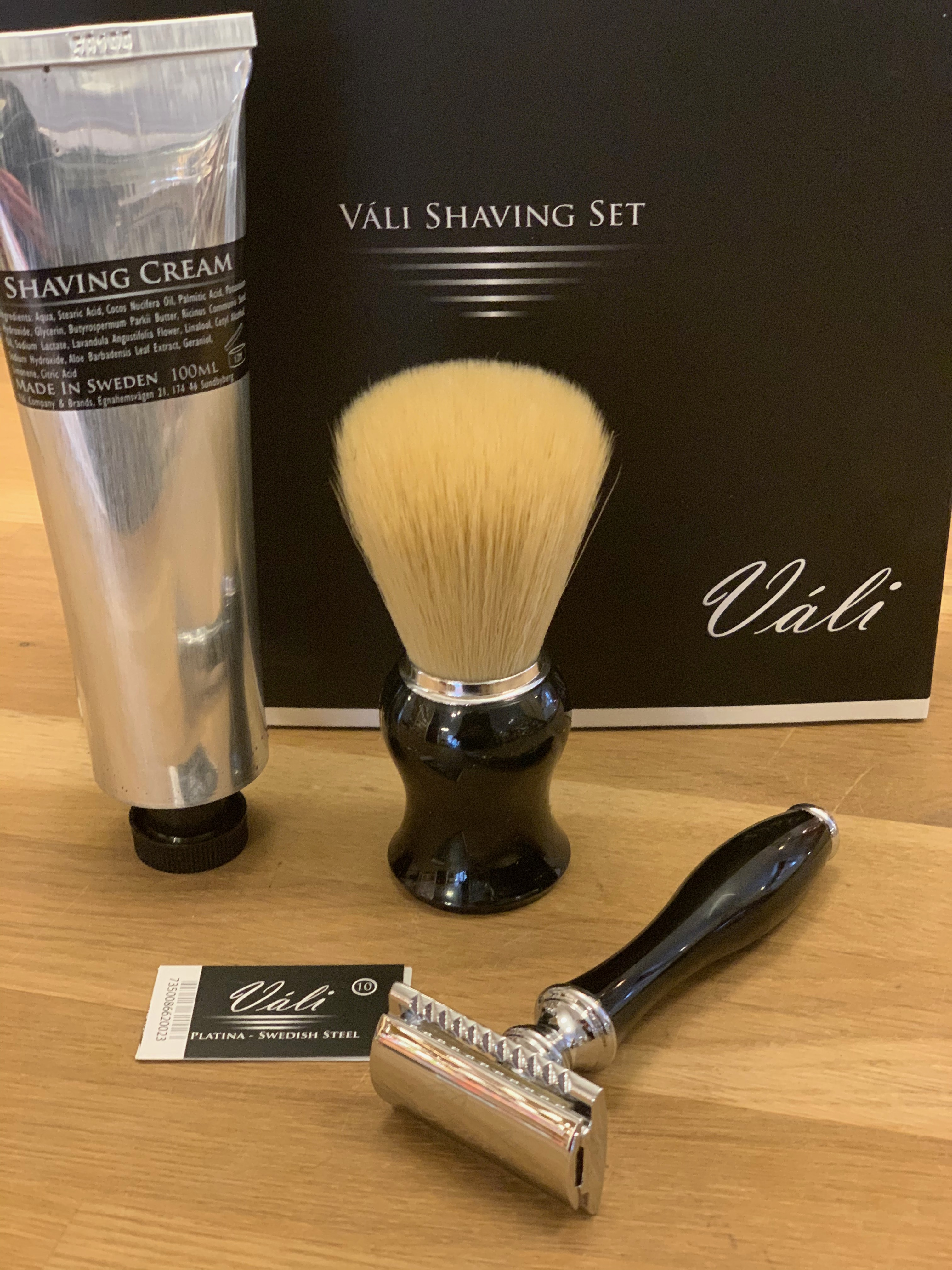 Váli Shaving Set