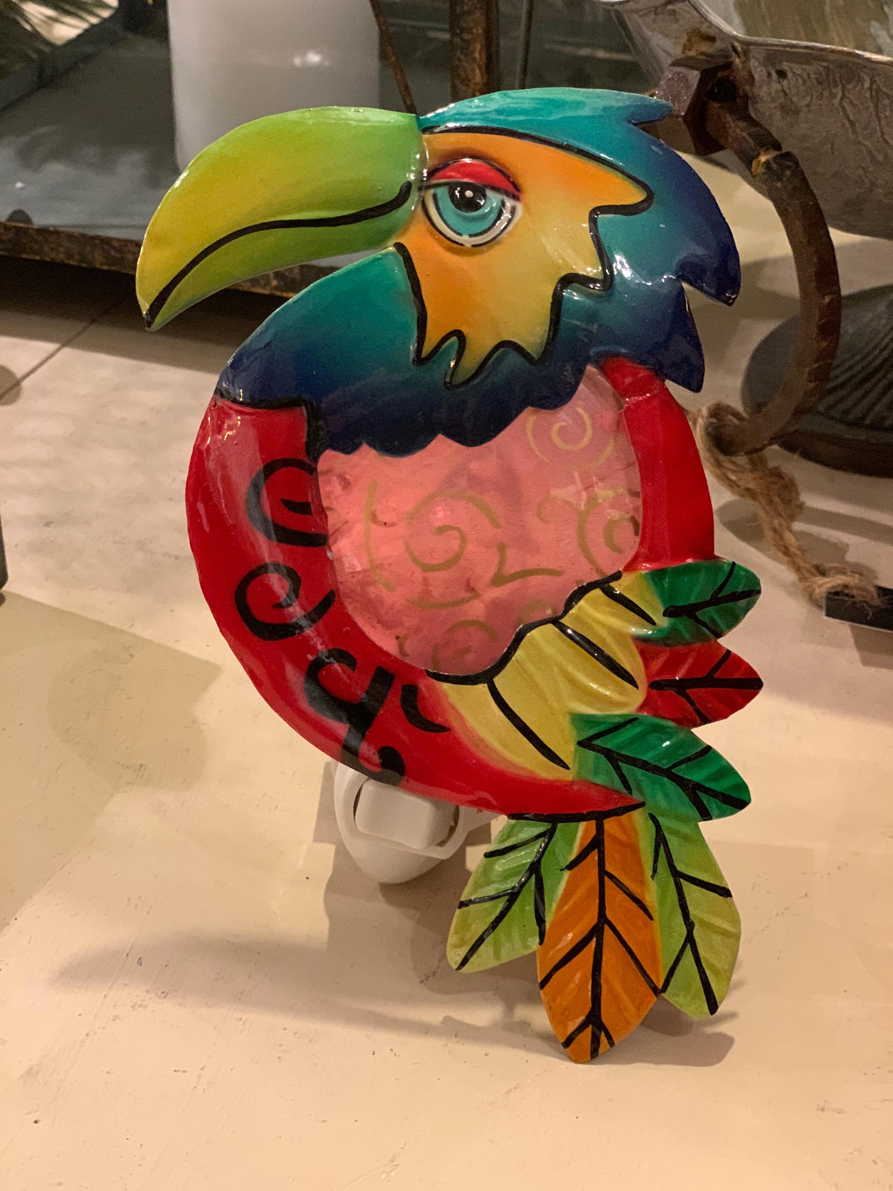 Nattlampa Papegoja