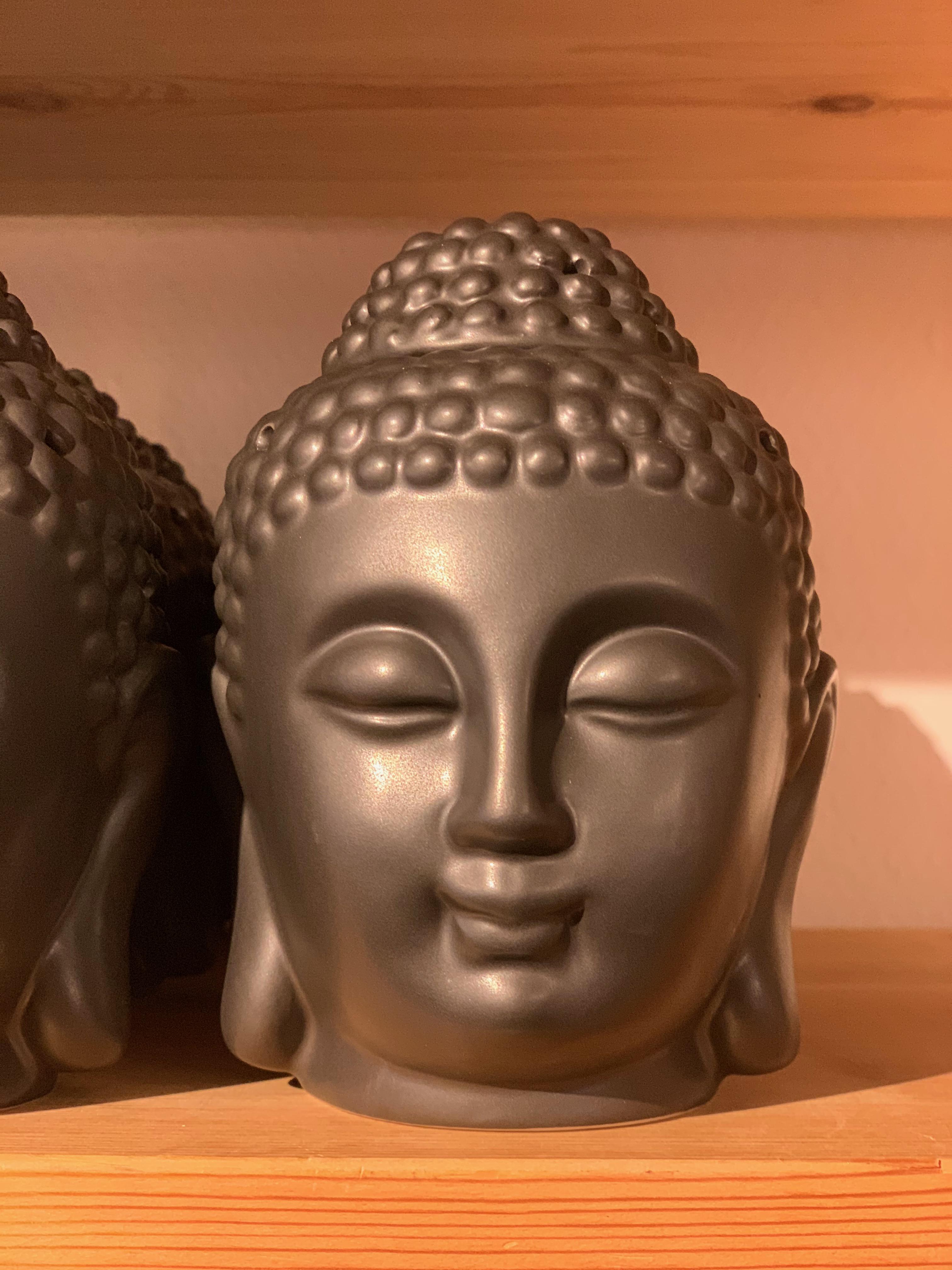 Aromalampa Buddhahuvud