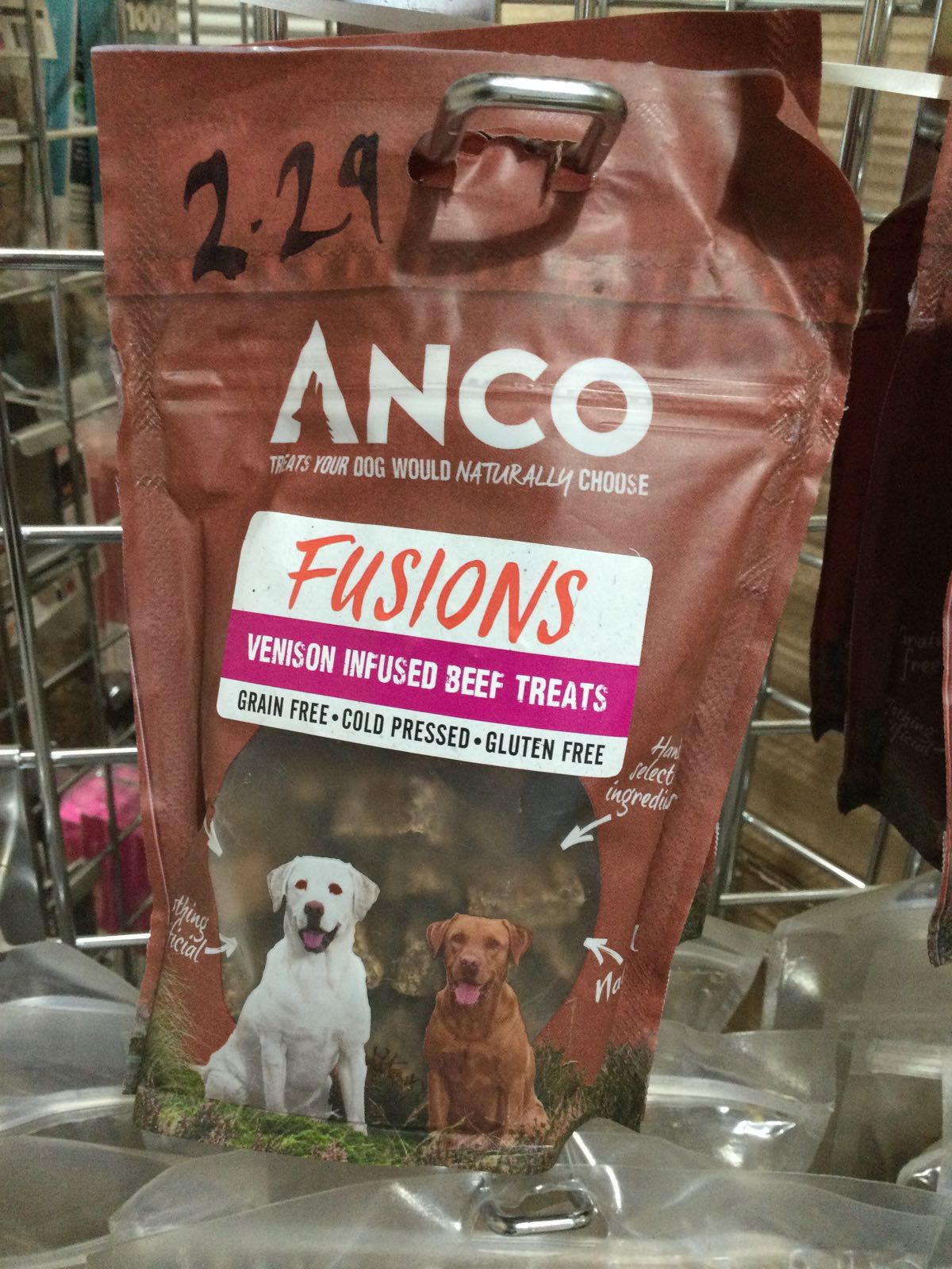Anco Fusions- Venison Infused Beef Treats