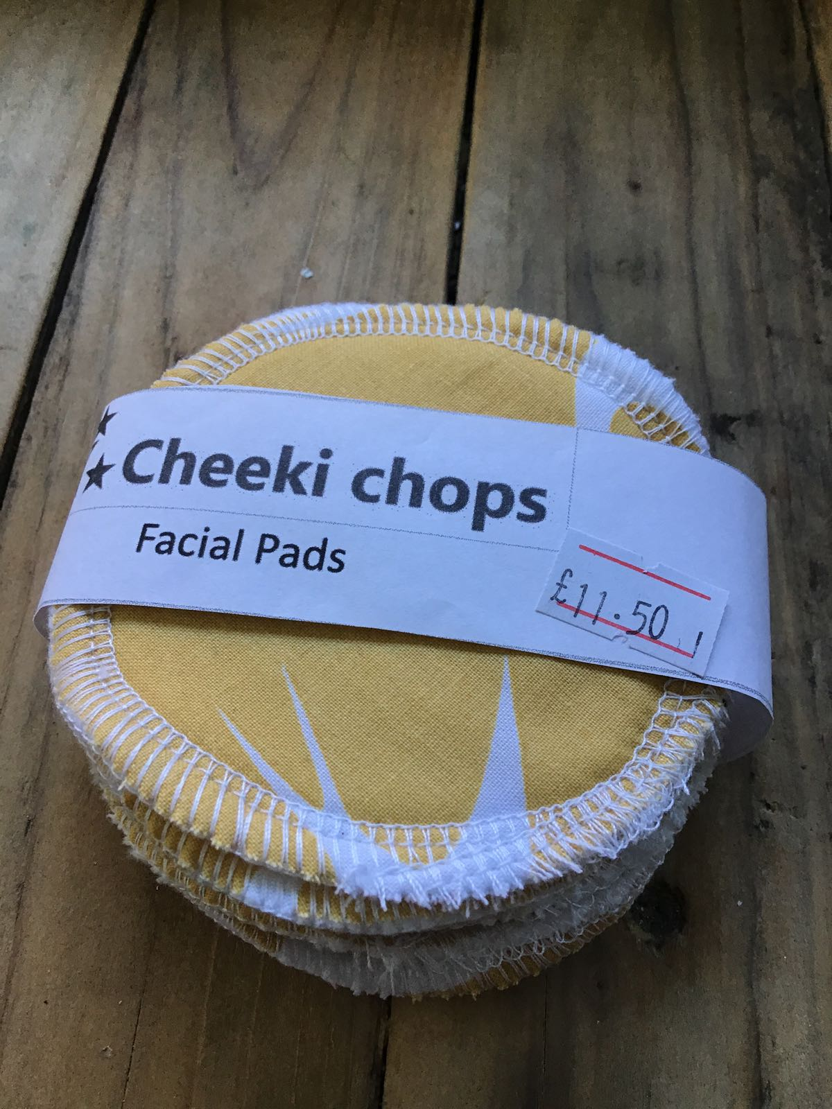 Facial round pads, washable (10 pads) by Cheeki Chops