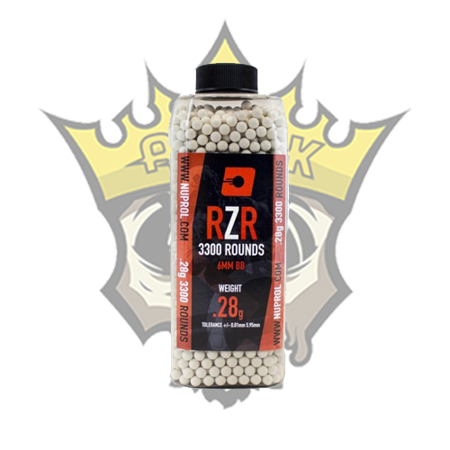 NUPROL RZR 0.28g Precision BB x3300