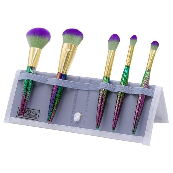 Mythical Travel Makeup Brush Kit 6 Piece