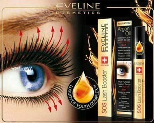 Eveline SOS Lash Booster Serum 10ml