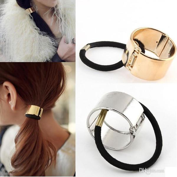 Metallic Hair Cuffs