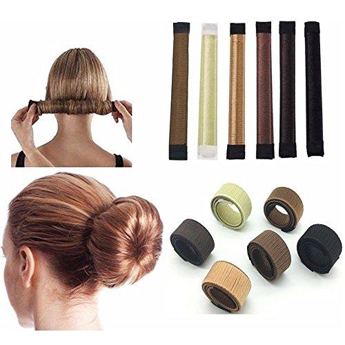 Faux Hair Ponytail Wrap