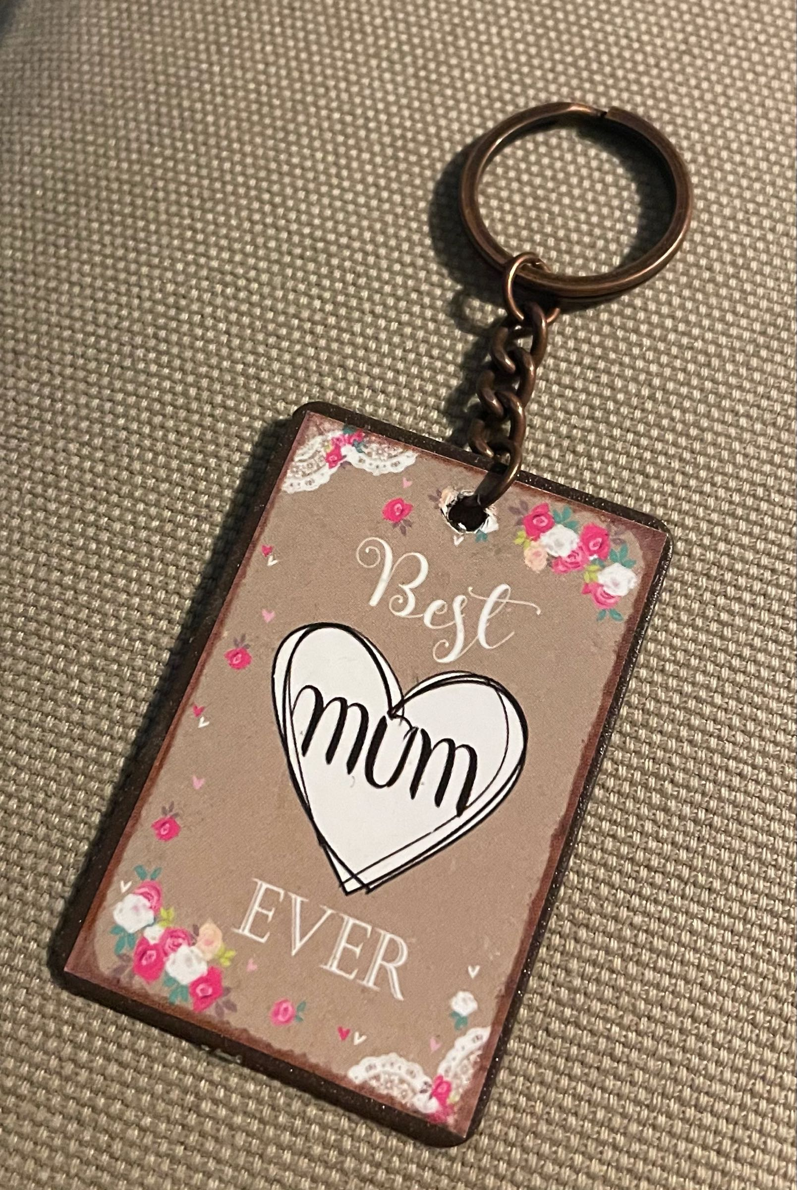 Best Mum Ever Keyring
