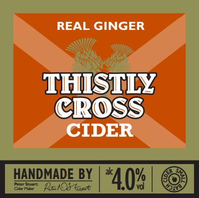 Thistly Cross Ginger Cider