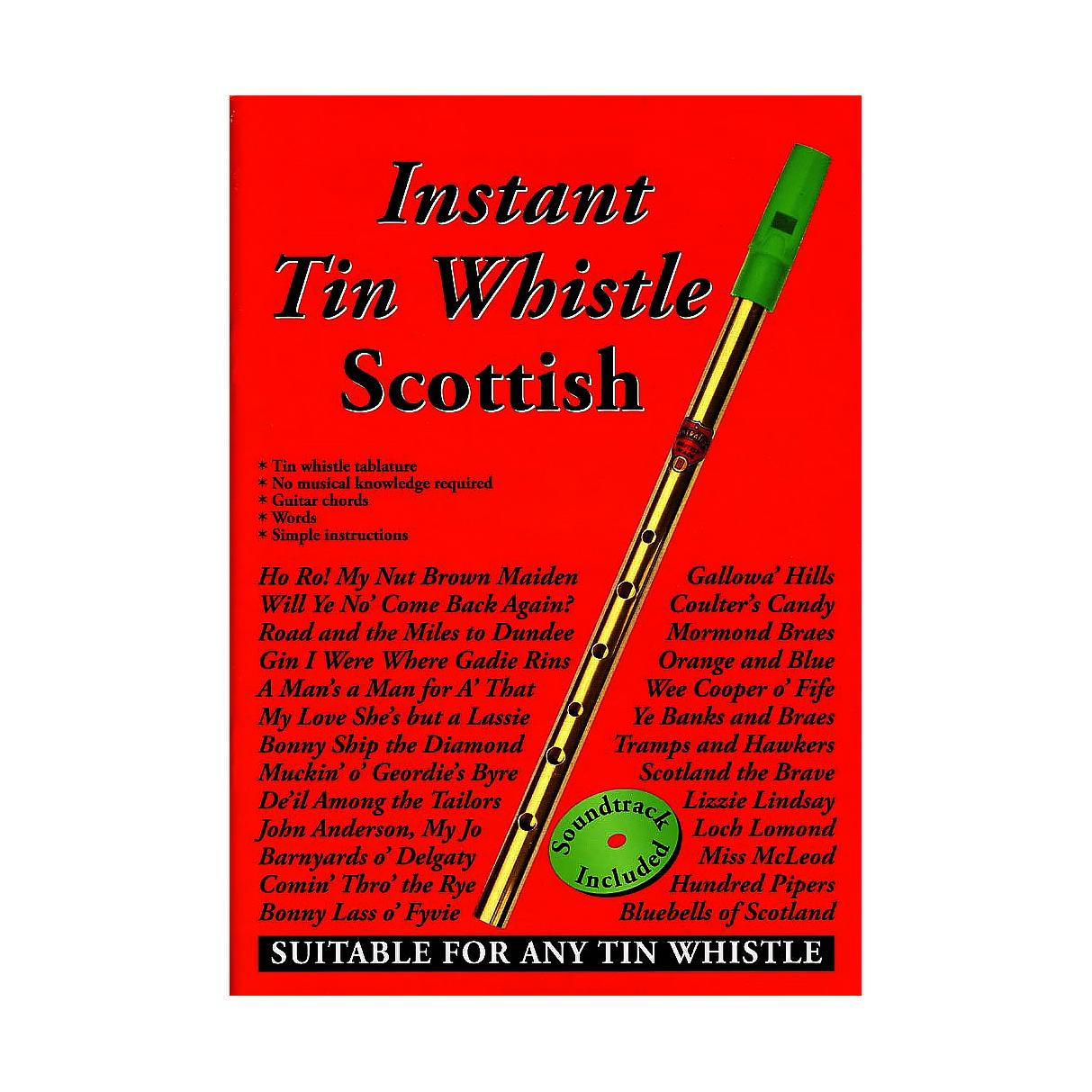 Instant 'Tin Whistle' Scottish Book