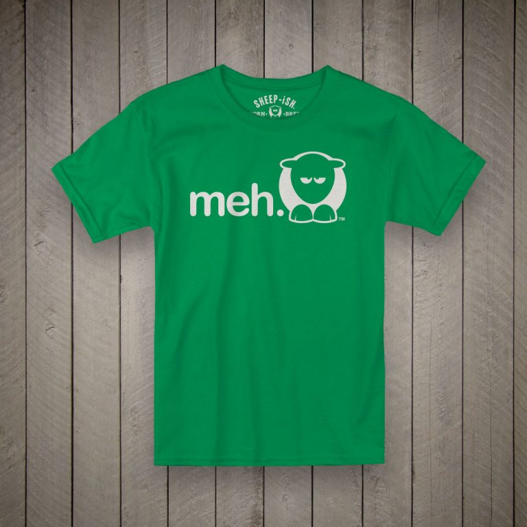 Meh Kids T-Shirt (Green)