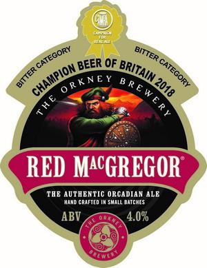 Red McGregor Beer