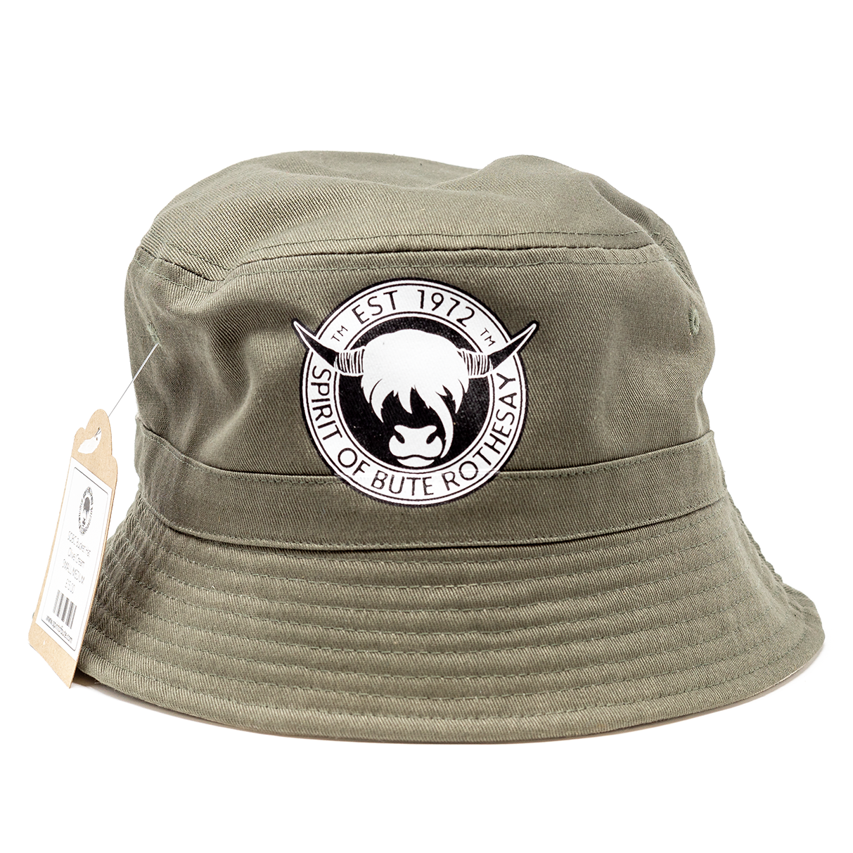 SOBC Bucket Hat (Olive/Cream)