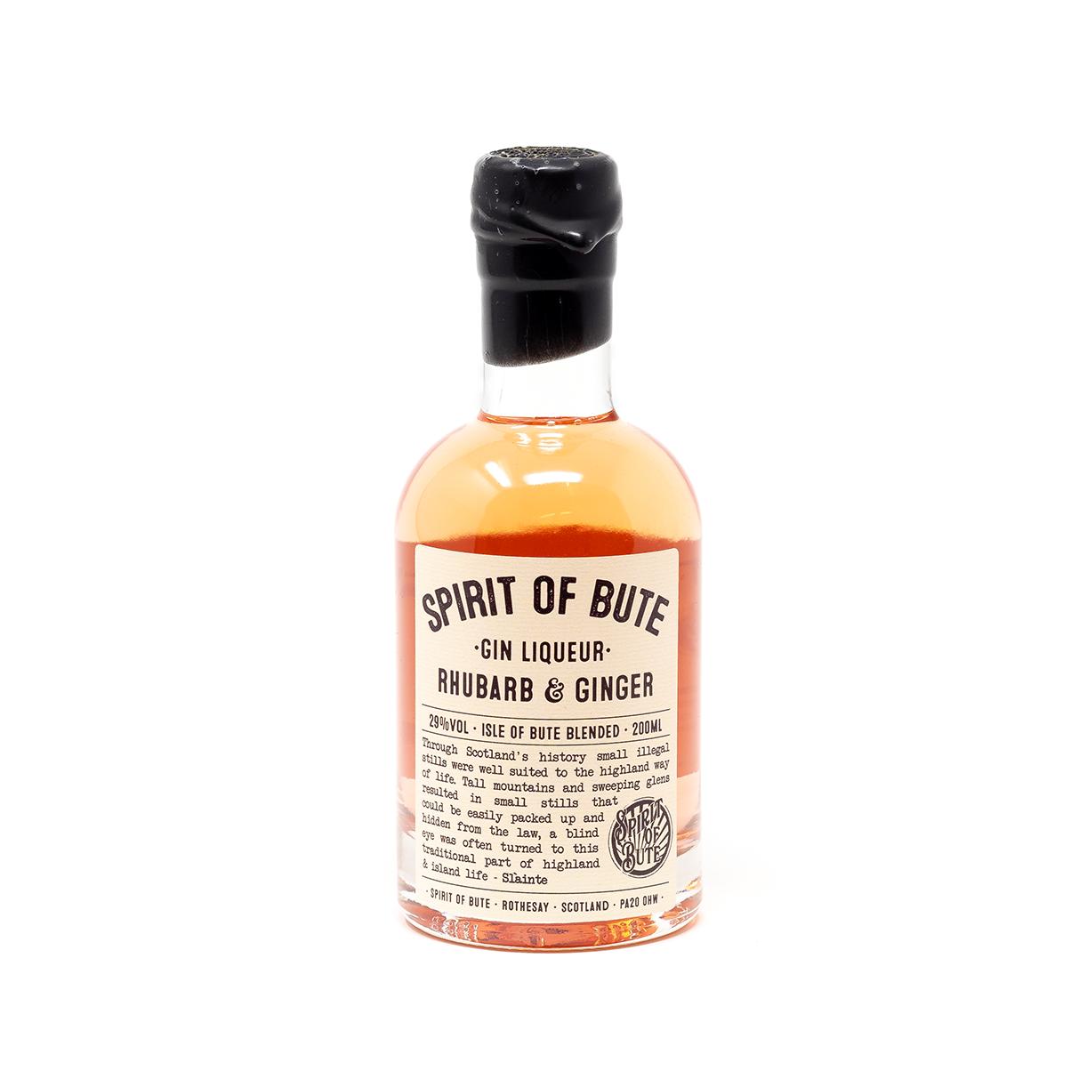 SOB Gin Liqueur (Rhubarb & Ginger)