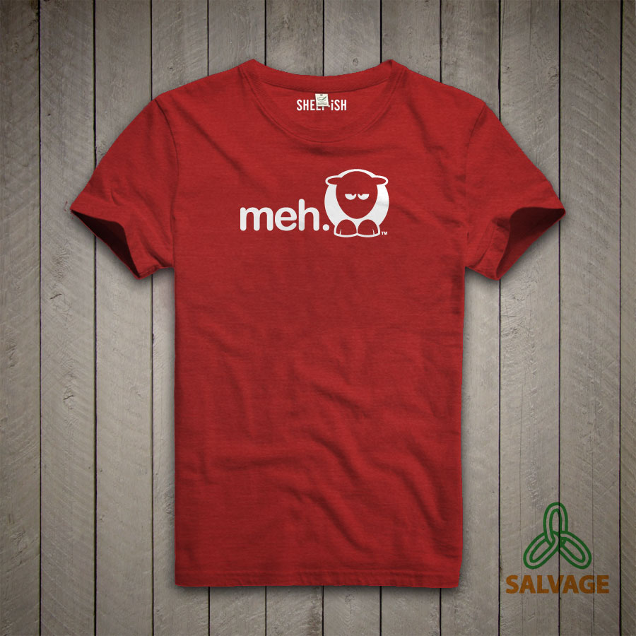 Meh Unisex T-Shirt (Red)