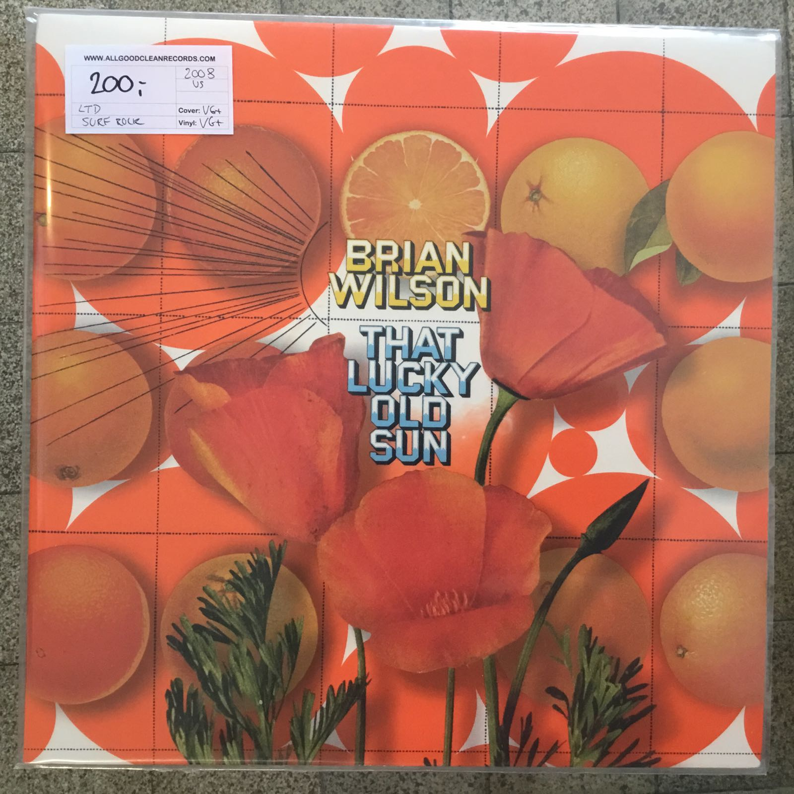 Brian Wilson – That Lucky Old Sun [LTD LP] (2. hand)
