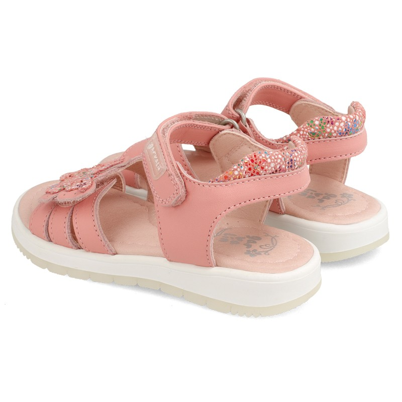 GARVALIN Butterfly Pink Sandals 202641-A