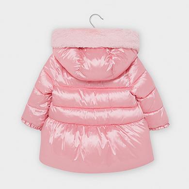 MAYORAL Girls Coat Pink 2414-060