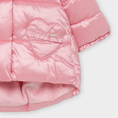 MAYORAL BABY Girl coat Pink 2414-060