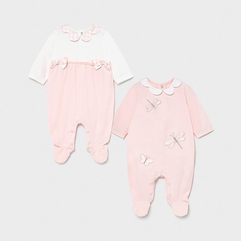MAYORAL NEWBORN GIRL 2 Pyjama Set 1605-065
