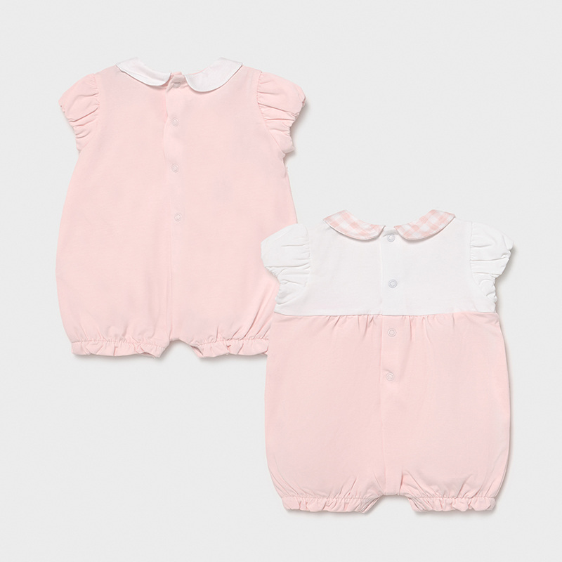 MAYORAL NEWBORN GIRL Set of Two Knitted Pyjamas 1606-065