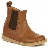 FRODDO Girls Chelsea Boots Cognac G3160119-3