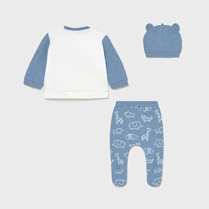 MAYORAL BABY BOY Set of Leg Warmer and Hat 1567-028