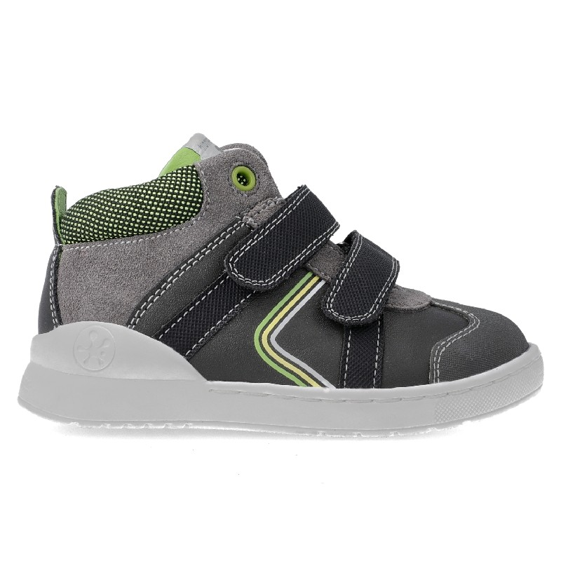 BIOMECANICS Boys Ankle Boots Dark Grey/Green 201214 NOW £37.35