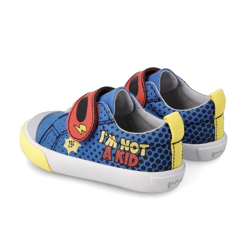 GARVALIN 'Superboy' Canvas Trainers 212803