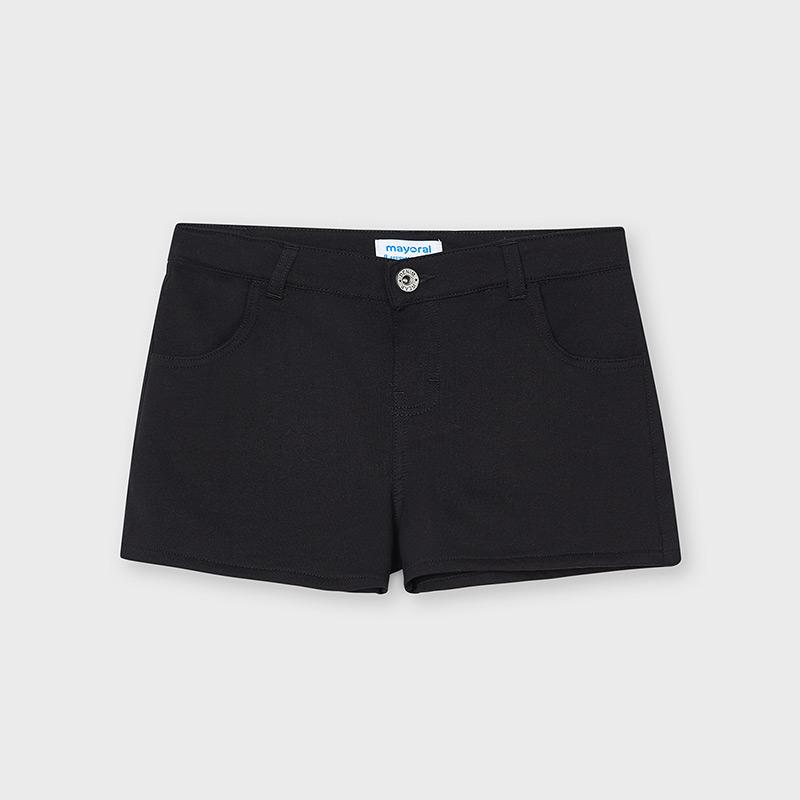 MAYORAL TEEN GIRL Black Shorts 6276-049
